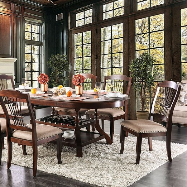 Minehead 7 Piece Drop Leaf Dining Set by Fleur De Lis Living