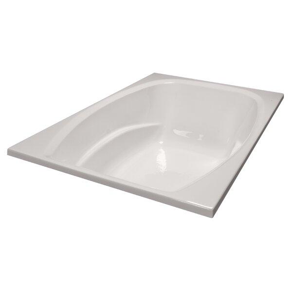 72 x 48 Soaker Bathtub by American Acrylic