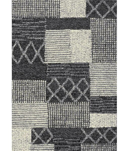 Magpie Gray/Silver Area Rug by 17 Stories