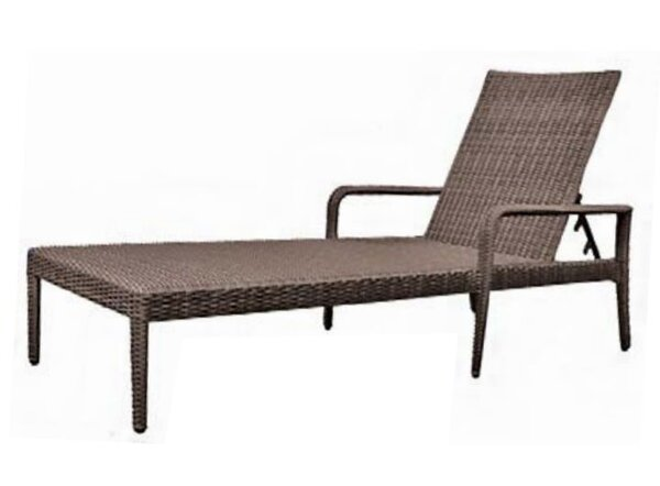 All-Weather Reclining Chaise Lounge By Woodard