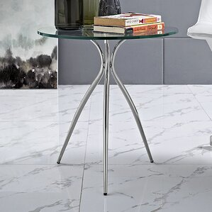 Moxy Glass Top End Table by Modway