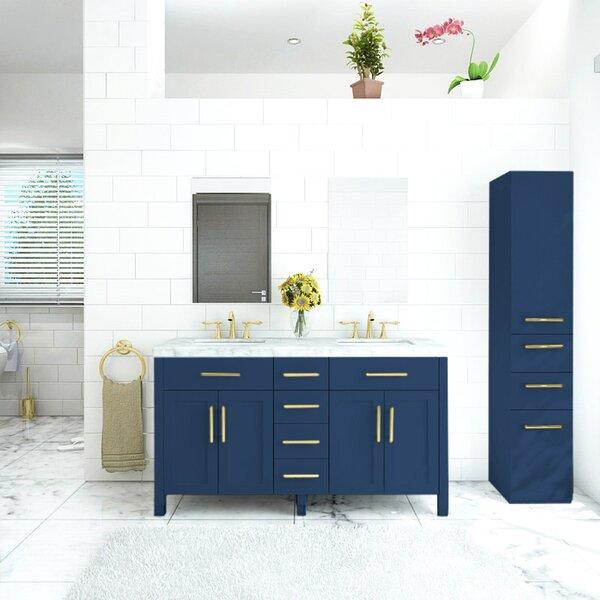 Lundgren 60 Double Bathroom Vanity