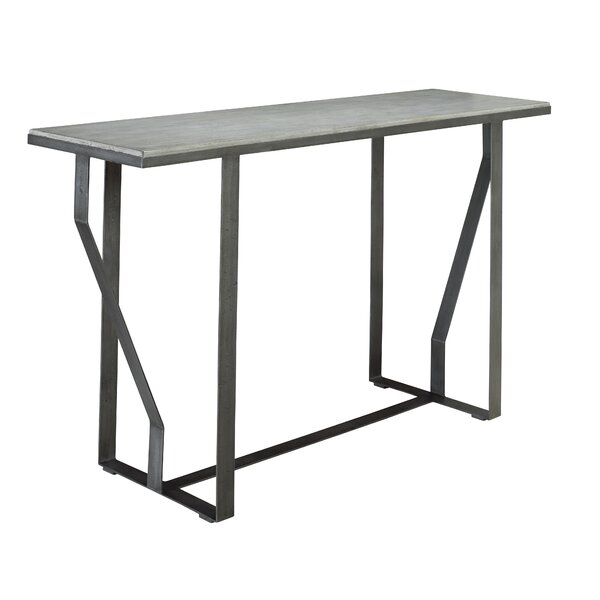 Clian Architectural Console Table By Brayden Studio