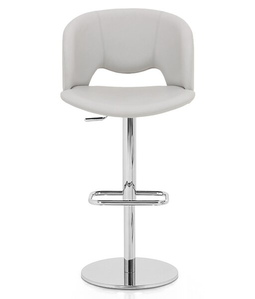 Fancy Adjustable Height Swivel Bar Stool by YumanMod
