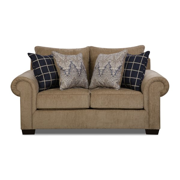 Della Loveseat by Simmons Upholstery by Alcott Hill