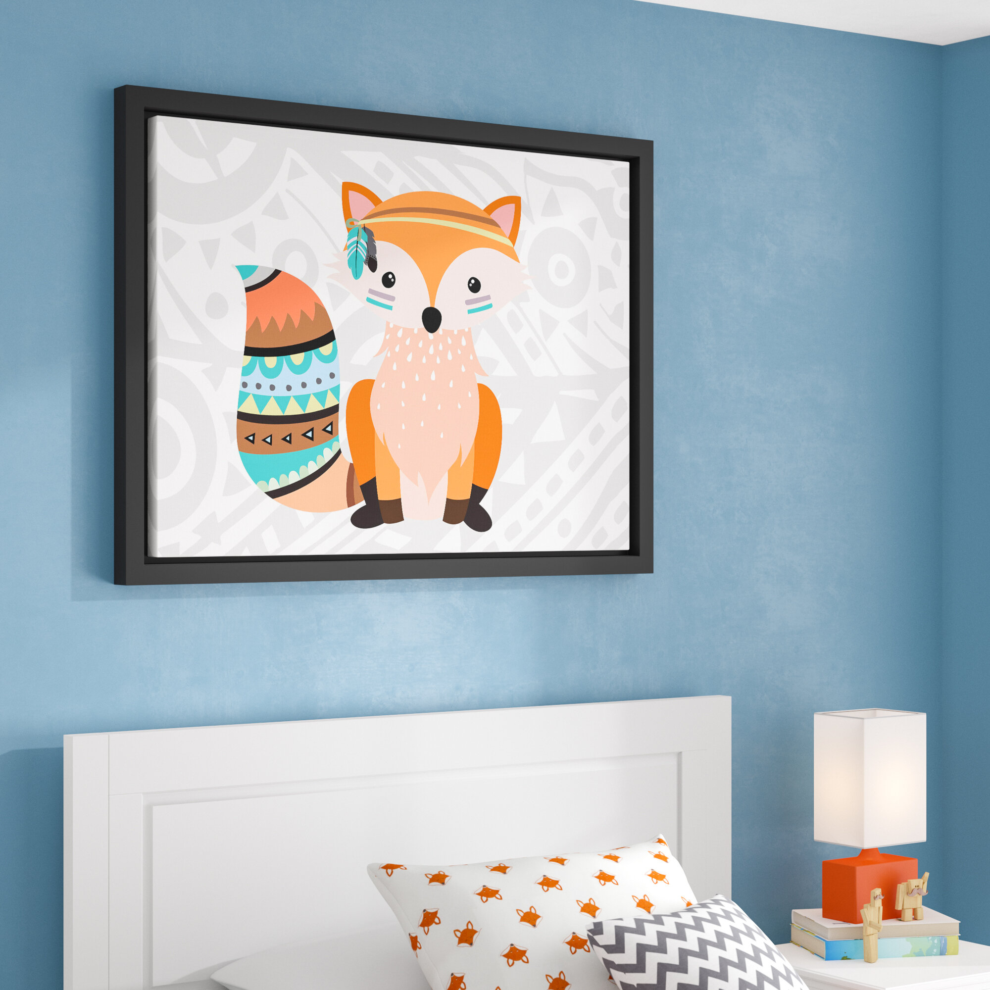 Viv Rae Aida Tribal Fox I Framed Art Wayfair Ca