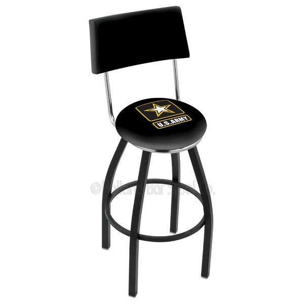 US Armed Forces 30 Swivel Bar Stool by Holland Bar Stool