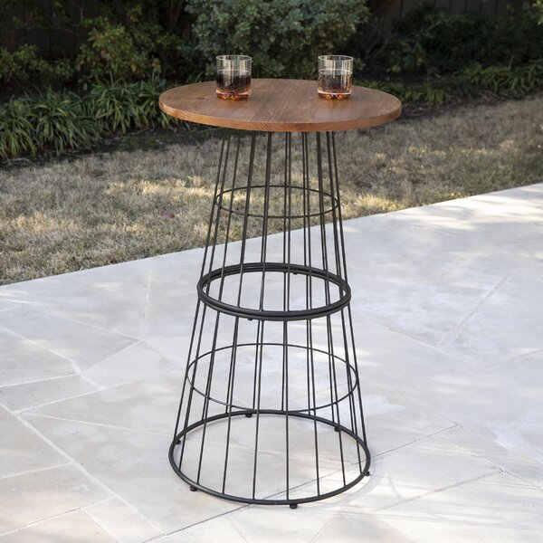 Bushman Bistro Table by Gracie Oaks