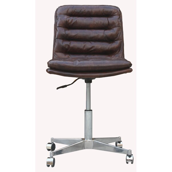 Deshong Leather Office Chair by 17 Stories