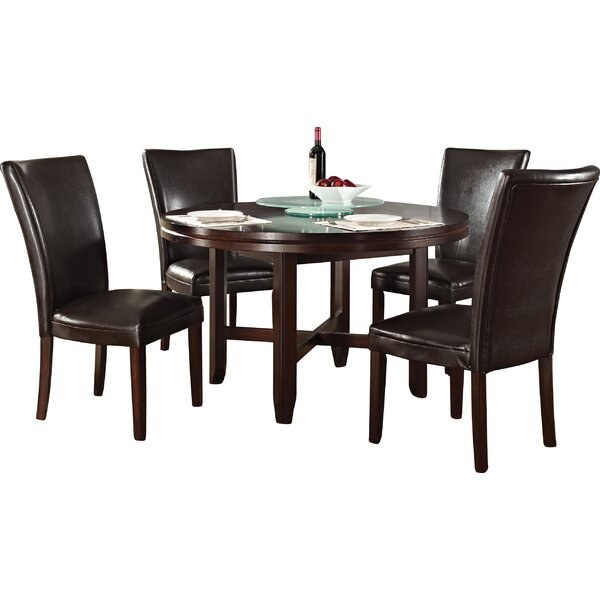 Fenley 5 Piece Dining Set by Winston Porter