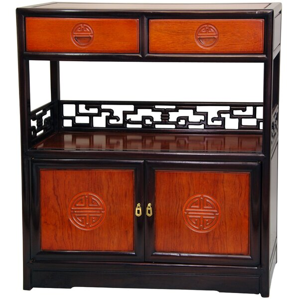 Slavin Display Accent Cabinet by World Menagerie World Menagerie