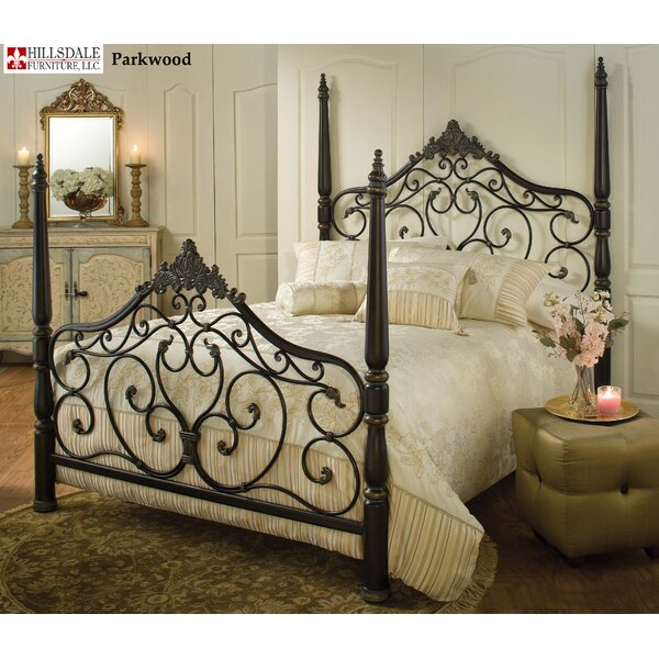 Low Profile Storage Four Poster Bed by Hillsdale Furniture Hillsdale Furniture