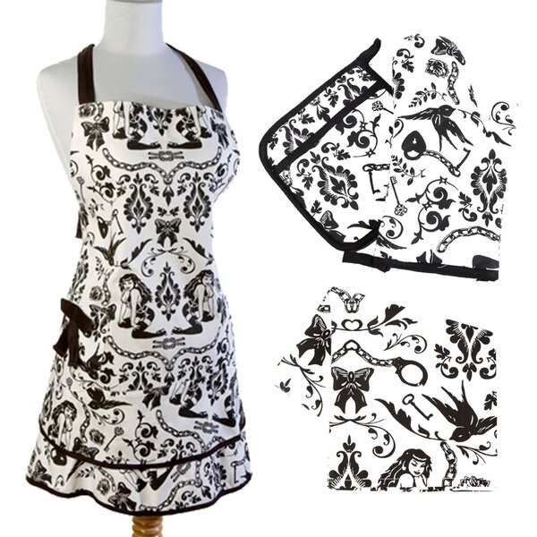 Ravens Dream Gift Set in Black and White by Sin In Linen