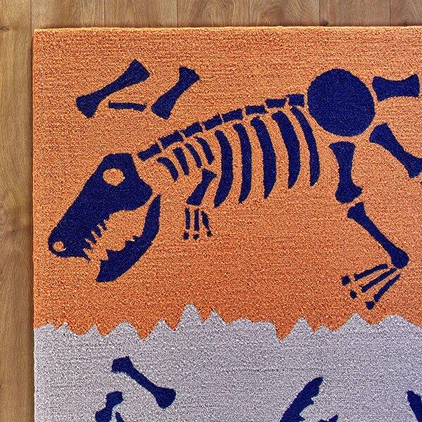Dig it Orange & Blue Rug by Birch Lane Kids™