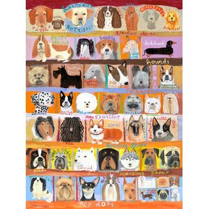 'Best in Show - Dogs!' Painting Print on Wrapped Canvas by Andover Mills