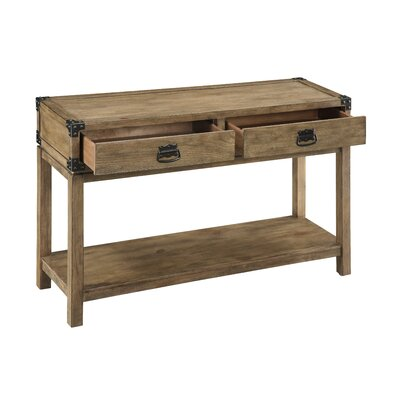 Chasity 2 Drawer Console Table