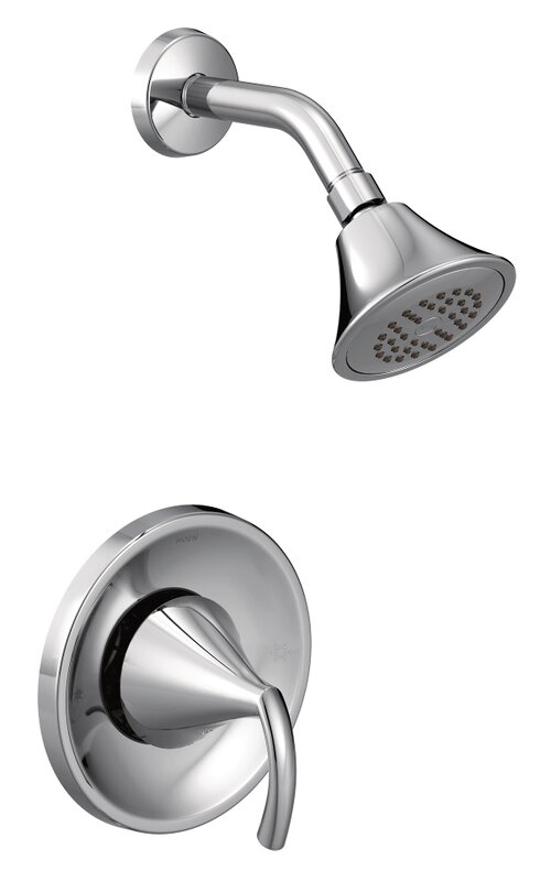 Moen Glyde Shower Faucet Lever Handle with Posi-Temp & Reviews | Wayfair