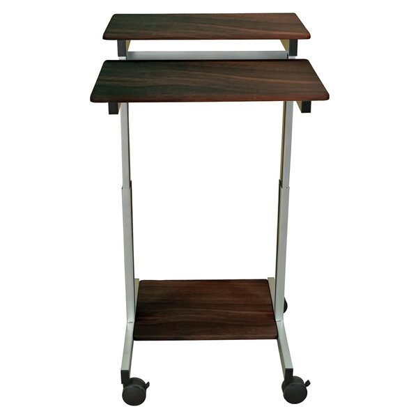 Stand Up Laptop Cart by Offex