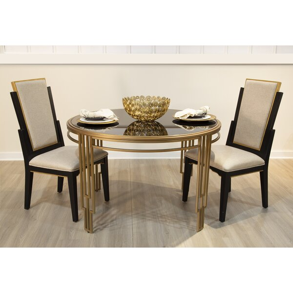 Drakeford 3 Piece Dining Set by Everly Quinn