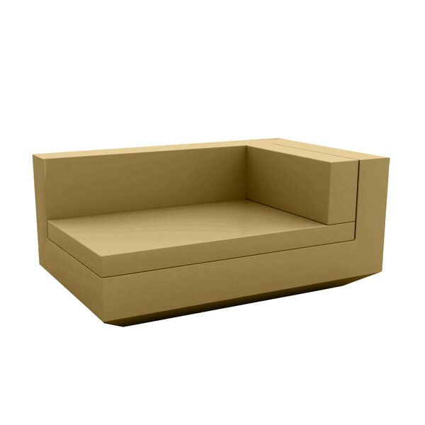 Vela Sectional Right Chaise Lounge with Cushion