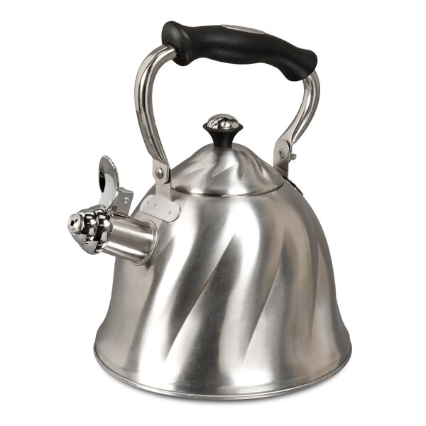 Mr Coffee 2.3 Qt. Alberton Tea Stovetop Kettle by Gibson