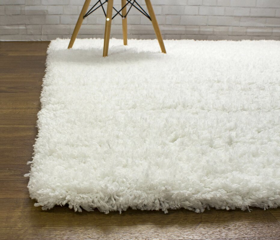 Cloud Microfiber Ultra Soft White Area Rug