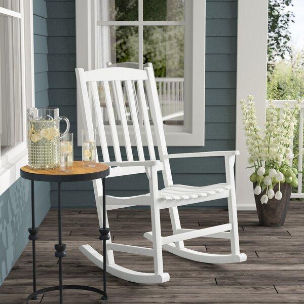 Rajesh Rocking Chair by Gracie Oaks