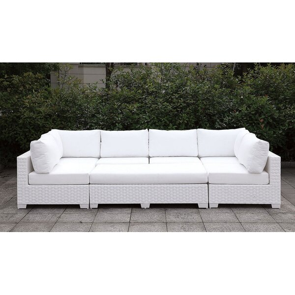 Alburg Patio Daybed with Cushions by Brayden Studio