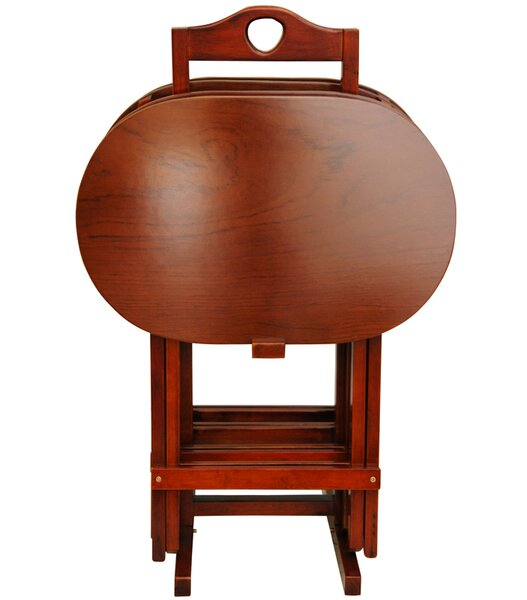 TV Tray Set with Stand by Oriental Furniture| @ $336.70