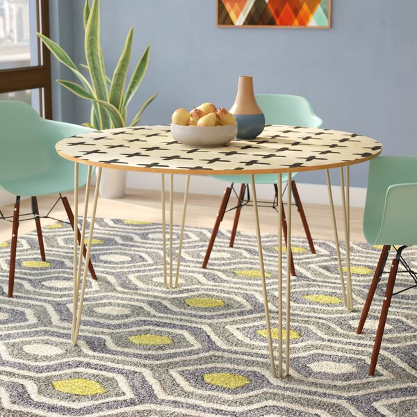 #1 Fender Dining Table By Brayden Studio Coupon