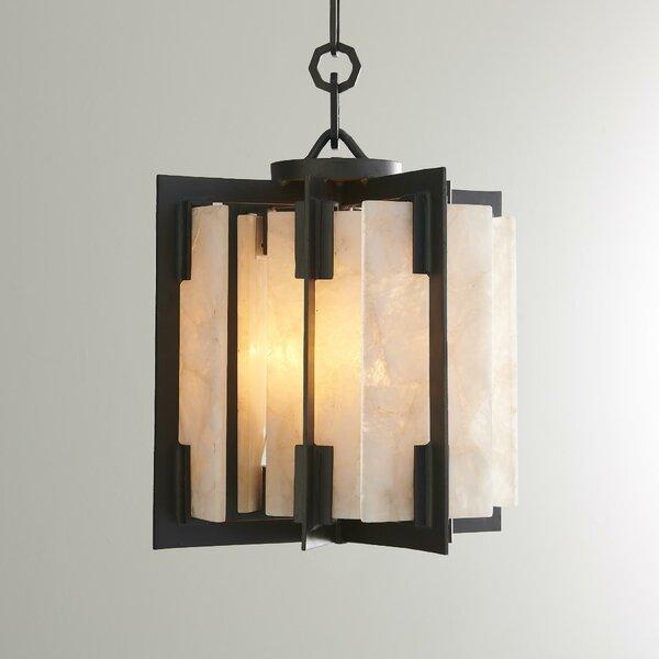 4 - Light Lantern Geometric Chandelier by Global Views Global Views