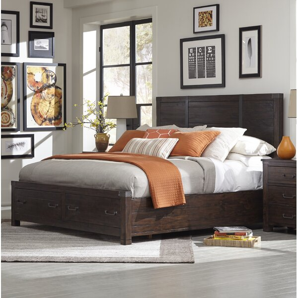 Enola Storage Platform Bed by Greyleigh