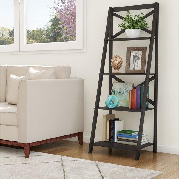 4 Shelf Ladder Bookcase By Lavish Home