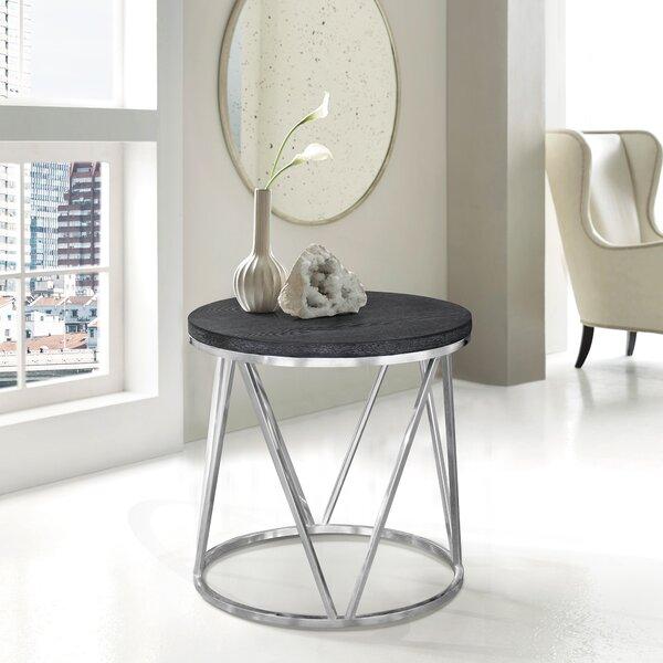 Bellerophon End Table by Brayden Studio