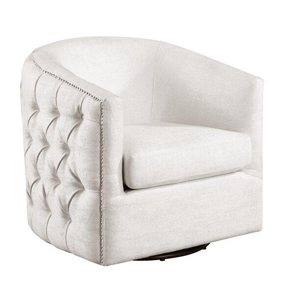 Bramblett Swivel Club Chair by Darby Home Co