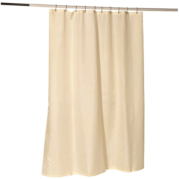 Ben and Jonah Nylon Fabric Shower Curtain Liner with Reinforced ...