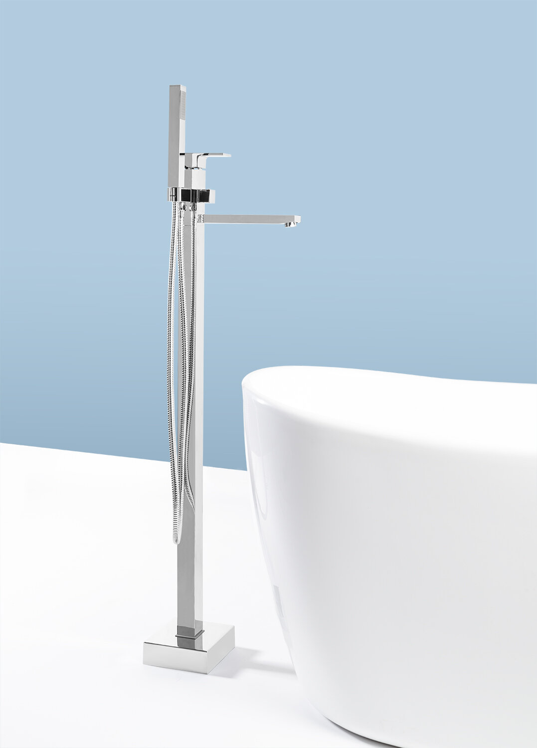 AKDY Diverter Tub and Shower Faucet with Single Handle & Reviews ...