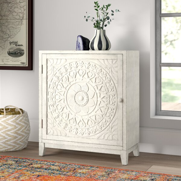 Read Reviews Dix 1 Door Accent Cabinet by Mistana