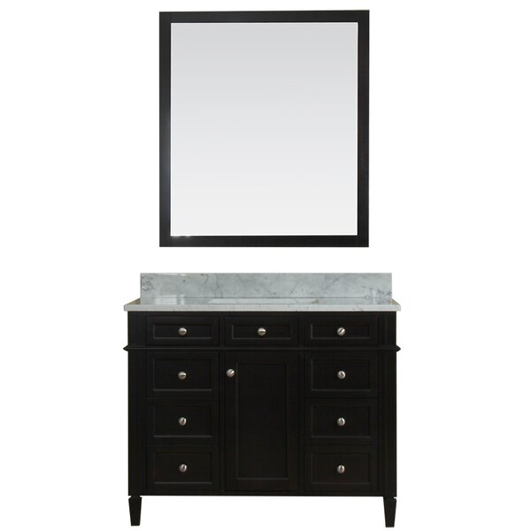 Costillo 42 Single Bathroom Vanity Set with Mirror by Red Barrel Studio