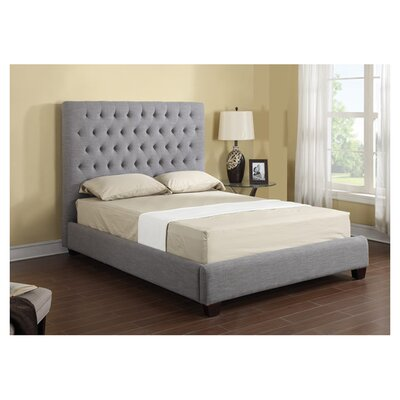 Darby Home Codelanie Upholstered Standard Bed Darby Home Co Color Navy Size Queen Dailymail