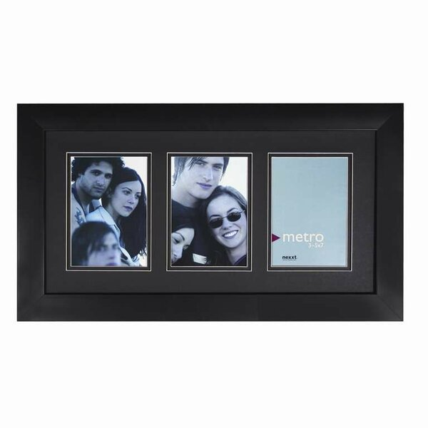 Metro 3 Photo Picture Frame by nexxt Design
