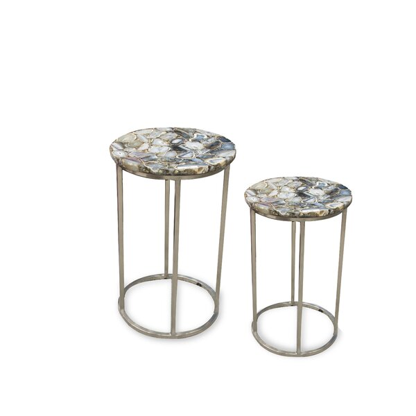 Dopson 2 Piece Nesting Tables by Ivy Bronx