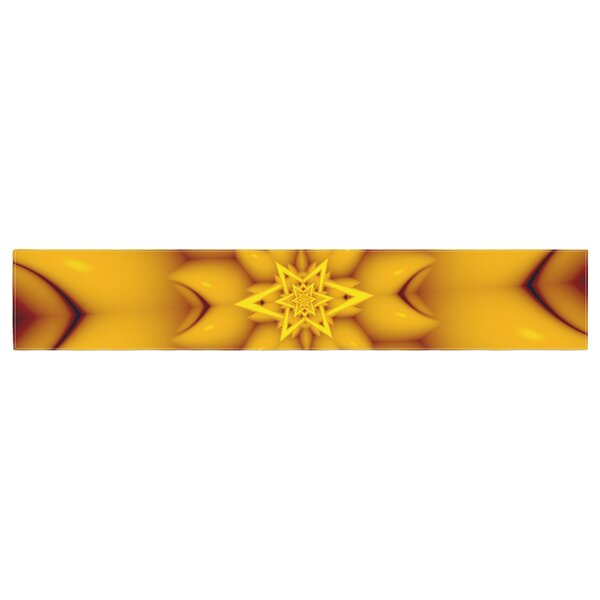 Michael Sussna Citrus Star Table Runner by East Urban Home