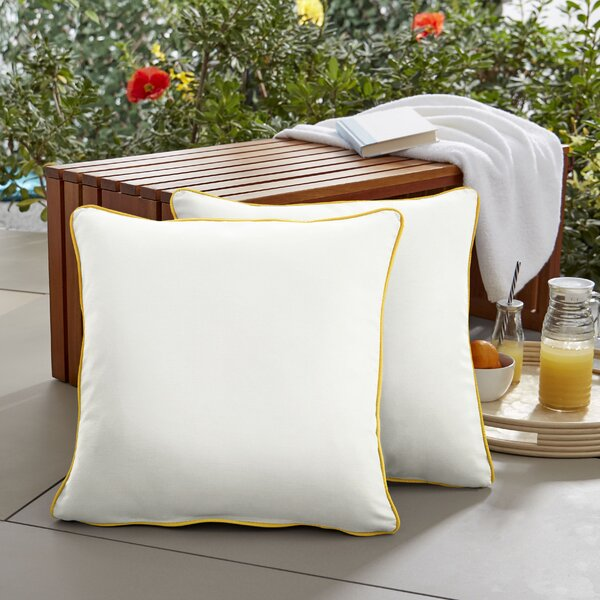 Sarana Indoor/Outdoor Throw Pillow (Set of 2)