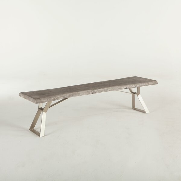 Allison Wood Bench by Union Rustic