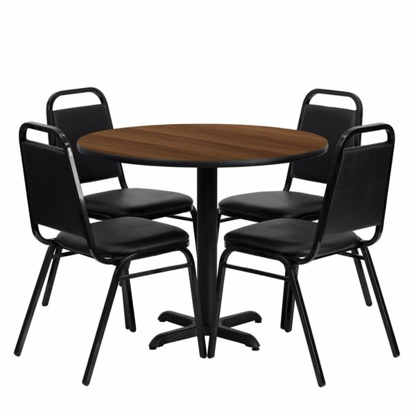 Villa Milagro Restaurant Laminate 5 Piece Dining Set by Red Barrel Studio