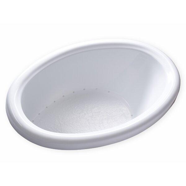 Hygienic Air 58 x 39 Bathtub by Carver Tubs