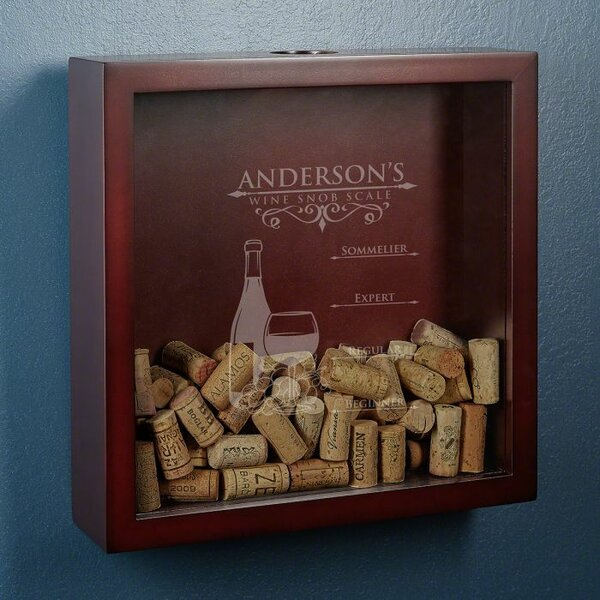 Kanode Wine Snob Scale Personalized Cork Holder by Winston Porter