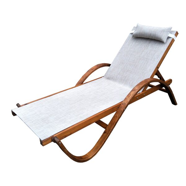 Reclining Chaise Lounge by Leisure Season