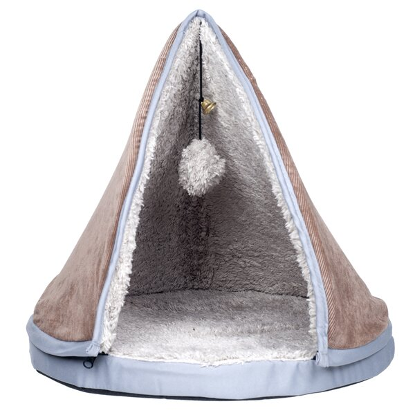 Haskin Sleep and Play Teepee Cat Bed by Tucker Murphy Pet